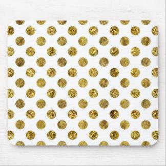 Mousepad Pontos chiques do encanto do ouro