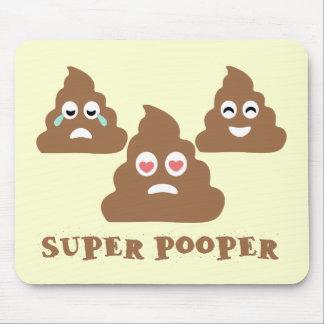 Mousepad Pooper super Emoji