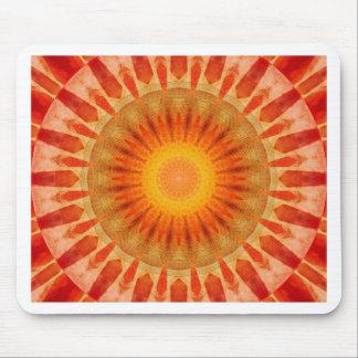 Mousepad Por do sol da mandala
