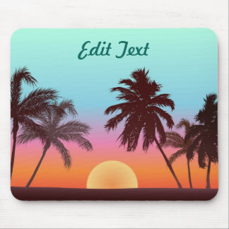 Mousepad Por do sol de Florida