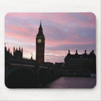 Mousepad Por do sol de Londres