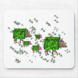 Mousepad porcos britânicos da conversão