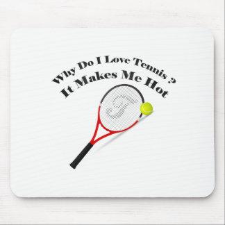 Mousepad Porque faz o tênis do amor de I. Faz-me quente