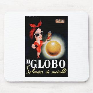 Mousepad Poster 1949 italiano da propaganda do IL Globo