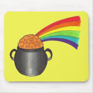 Mousepad Pote afortunado do dia de St Patrick do irlandês