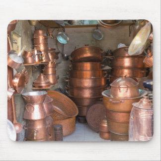 Mousepad Potes de cobre no mercado