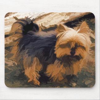 Mousepad Pouco Yorkie   - cão do yorkshire terrier