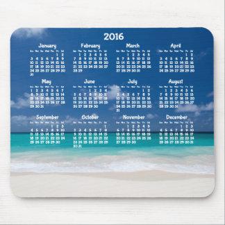 Mousepad Praia 2016 anual feita sob encomenda do tapete do