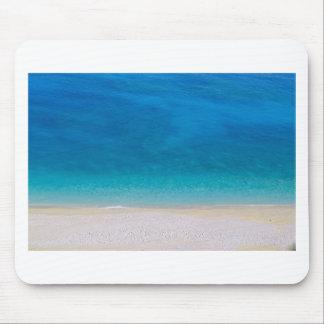 Mousepad Praia azul abstrata do mar