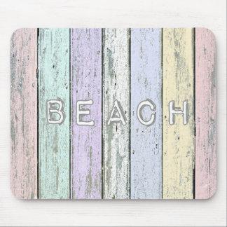 Mousepad Praia da madeira lançada costa