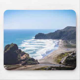 Mousepad Praia de Piha, esteira do rato de Auckland da