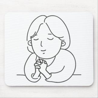 Mousepad Praying