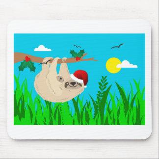 Mousepad preguiça do papai noel