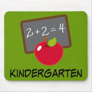 Mousepad Presente do professor do jardim de infância
