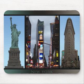 Mousepad Presente dos marcos da lembrança de New York