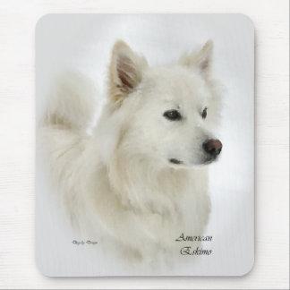 Mousepad Presentes americanos do cão Eskimo