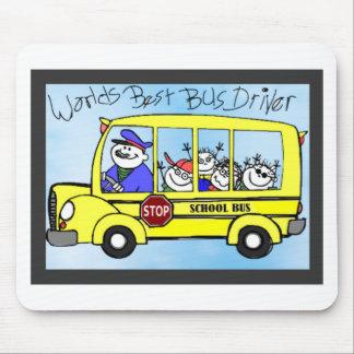 Mousepad Presentes da apreciação do condutor de autocarro