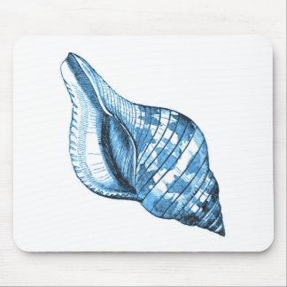 Mousepad Presentes litorais náuticos do azul da praia do