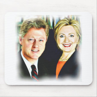 Mousepad Presidente Bill Clinton & presidente Hillary