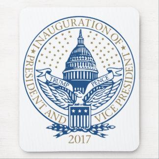 Mousepad Presidente Inaugural Logotipo Inauguração das