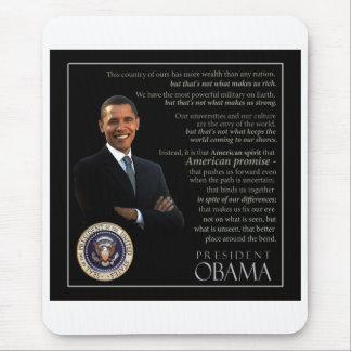 Mousepad Presidente Obama Citação