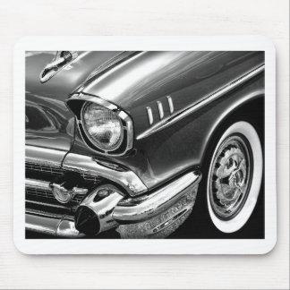 Mousepad Preto 1957 & branco do Bel Air de Chevrolet