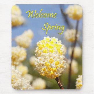 Mousepad Primavera bem-vindo