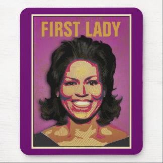 Mousepad Primeira senhora Michelle Obama
