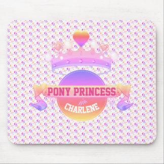 Mousepad Princesa cor-de-rosa e roxa do pônei