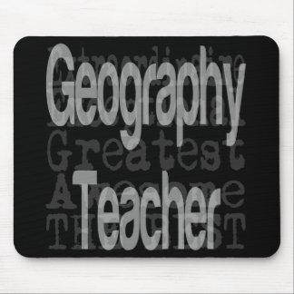 Mousepad Professor da geografia Extraordinaire