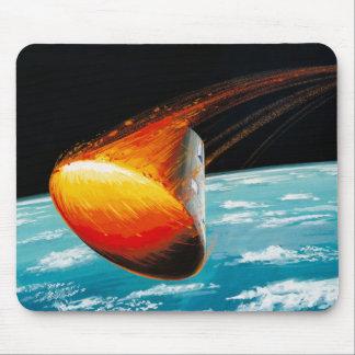 Mousepad Programa Apolo - conceito do artista da missão da