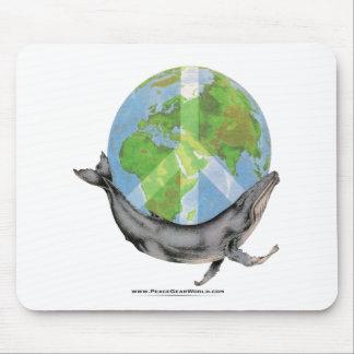 Mousepad Projeto da paz da baleia de Humpback
