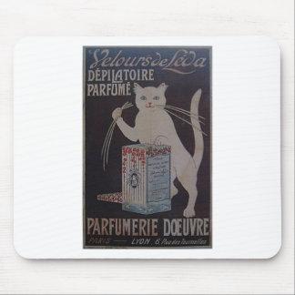 Mousepad Propaganda francesa do vintage - gatos