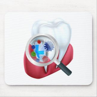 Mousepad Protetor do dente da proteção