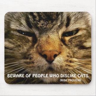 Mousepad Provérbio Meme do racum e do irlandês de Maine