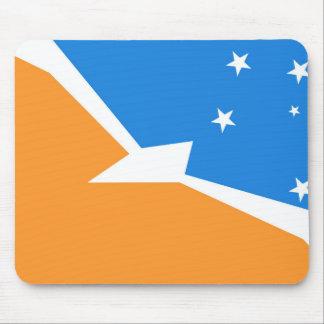 Mousepad Província da terra do fogo da bandeira de Terra do