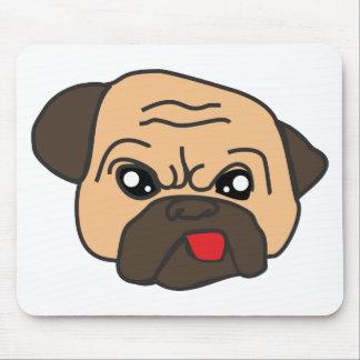 Mousepad Pug engraçado