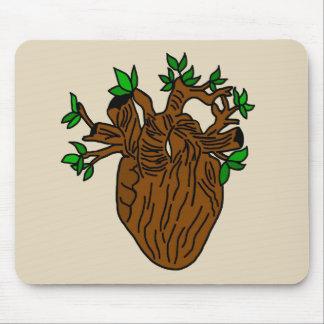 Mousepad Pulsação do coração da terra