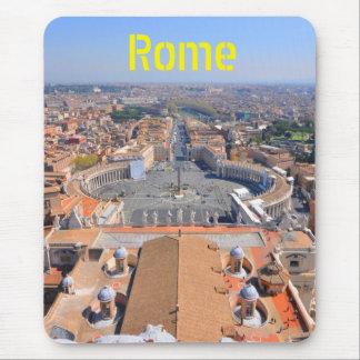 Mousepad Quadrado de St Peter no vaticano, Roma, Italia