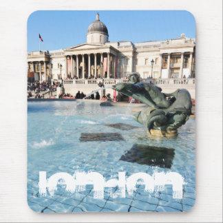 Mousepad Quadrado de Trafalgar em Londres, Reino Unido