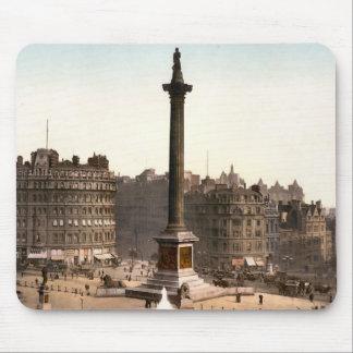 Mousepad Quadrado de Trafalgar Londres Inglaterra