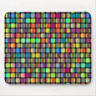 Mousepad Quadrados arredondados