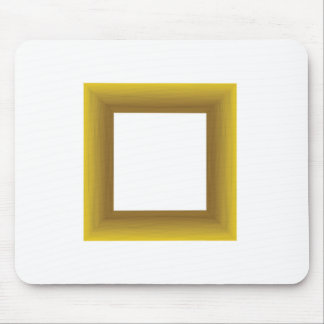 Mousepad quadro de madeira