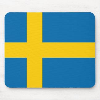 Mousepad Qualidade da bandeira da suecia