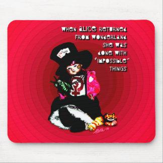 Mousepad Quando Alice retornou por Aleta