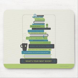 Mousepad Que é seu livro seguinte?