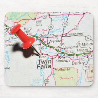 Mousepad Quedas do gêmeo, Idaho