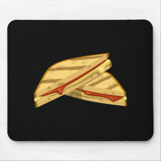 Mousepad Queijo grelhado caro da comida do pulso aleatório