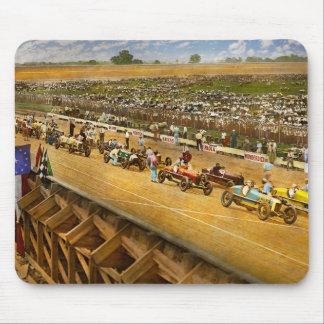 Mousepad Raça de carro - vida na faixa rápida 1925