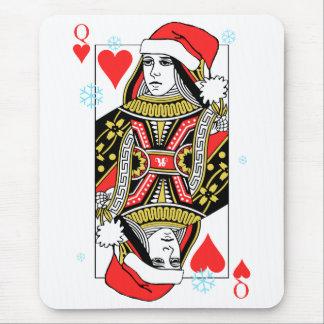 Mousepad Rainha do Feliz Natal dos corações